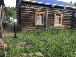 дом новый на сваях