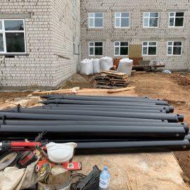 Строим фундаменты для детского сада