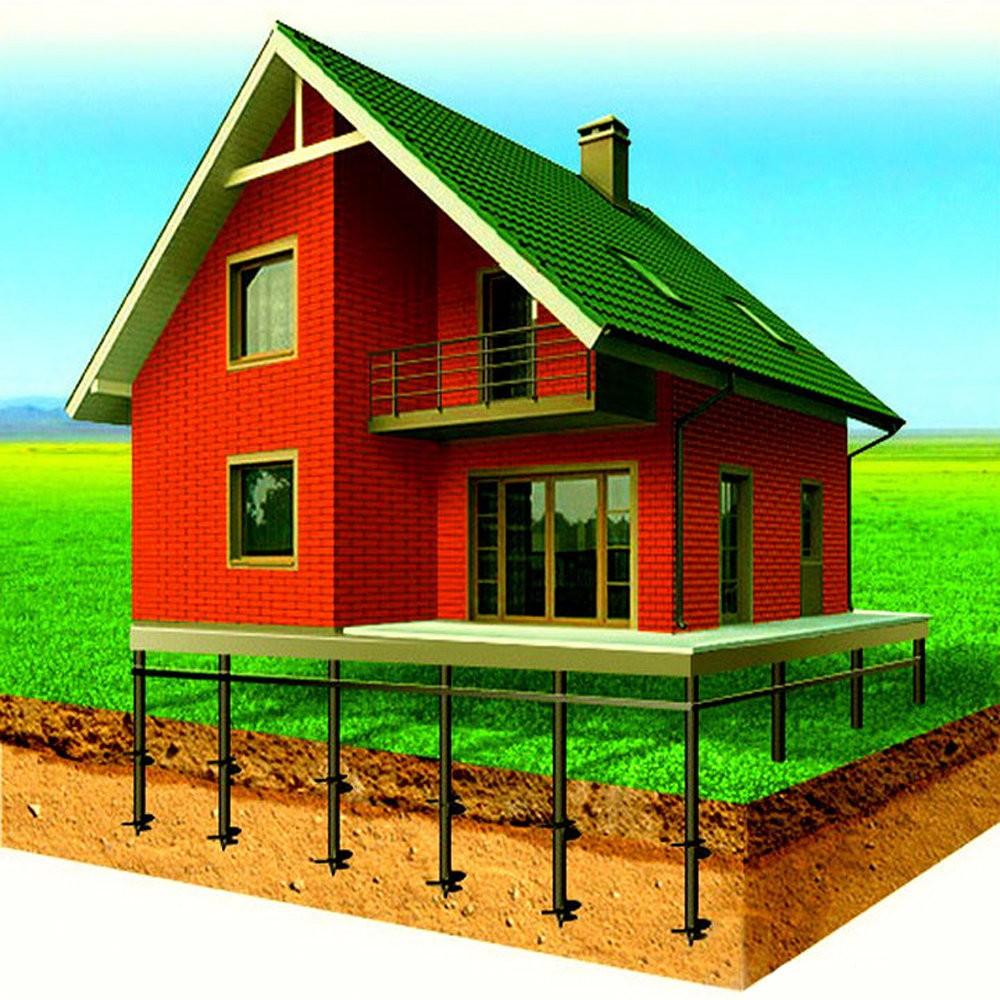 Сваи для загородного дома